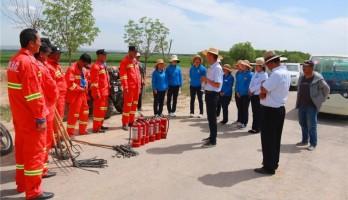 鸣翠湖景区组织开展安全生产应急演练