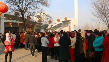 健康徒步行,冬日暖人心——19年兴庆区掌政镇迎新年徒步活动