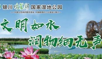 银川鸣翠湖国家湿地公园:打造文明旅游景区,助力整改创建全国文明城市!