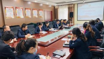 银川鸣翠湖党支部党史学习教育读书班开班