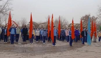 劳动托起中国梦||长庆高级中学在鸣翠湖践行劳动+教育